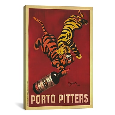 iCanvas Porto Pitters Vintage Canvas Print Wall Art; 18'' H x 12'' W x 0.75'' D