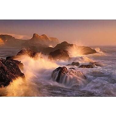 Printfinders Ocean's Fury by Marc Adamus Photographic Print on Canvas; 24'' x 36''