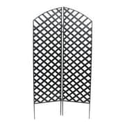 NMN Designs 72'' x 36'' Interlocking Screen 2 Panel Room Divider