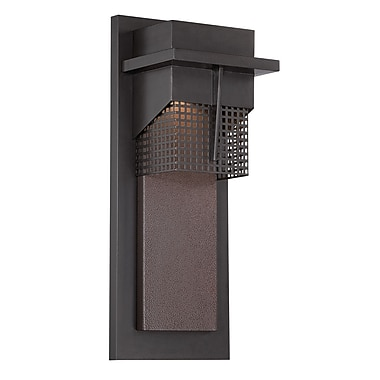 Designers Fountain Beacon 1-Light Outdoor Flush Mount; 18'' H x 7'' W x 5.88'' D