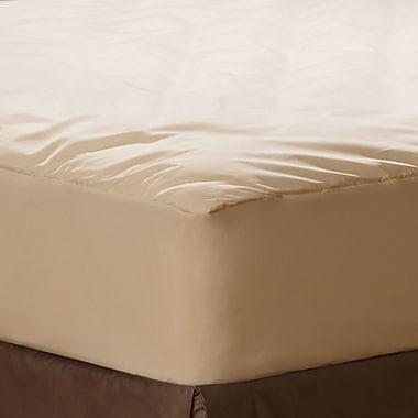 AllerEase Naturals Organic 0.5'' Polyester Mattress Pad; King