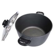 Swiss Diamond Stock Pot w/ Lid; 8.5-qt.