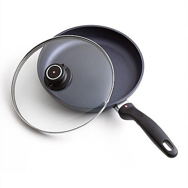Swiss Diamond Non-Stick Frying Pan w/ Lid; 8'' Diameter