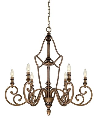 Designers Fountain Isla 6-Light Candle-Style Chandelier
