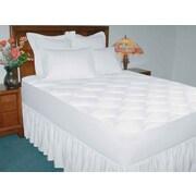 Deluxe Comfort 200 Thread Count Cotton Waterproof Mattress Pad; Full