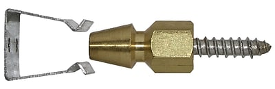 Acorn Bullet Catch for Brick Installation
