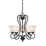 Designers Fountain Addison 5-Light Shaded Chandelier