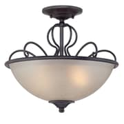 Designers Fountain Tangier 2-Light Semi-Flush Mount