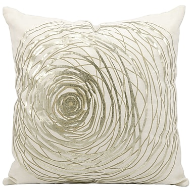 Kathy Ireland Home Gallery Eternity Cotton Throw Pillow