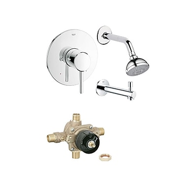 Samson Concetto Diverter Tub and Shower Faucet
