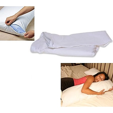 Deluxe Comfort L Side Sleeper Pillow Cover