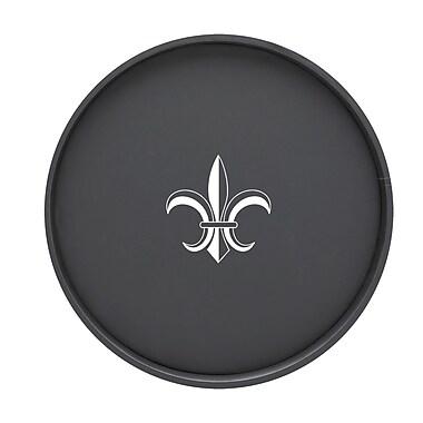 Kraftware Fleur De Lis 16'' Round Serving Tray