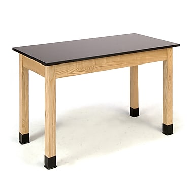 National Public Seating PSLT2448-36-BC Science Lab Table with Phenolic Top