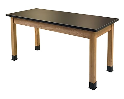 National Public Seating SLT2454-36 Science Lab Table with Chemical Resistant Top