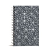 "Bookjigs 8"" x 5"" Spiral-Bound Series Medium Canvas Notebooks"
