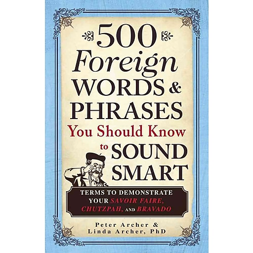 """foreign words and phrases If this is the phrase you want to learn, you might be better off substituting some of the words to make it more common, like, """"i want to be a doctor,"""" and then switching the words back once you know how to say it."""