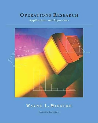 Operations Research With Infotrac: Applications and Algorithms