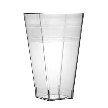 Fineline Settings Wavetrends 1112 Square Tumbler, Clear