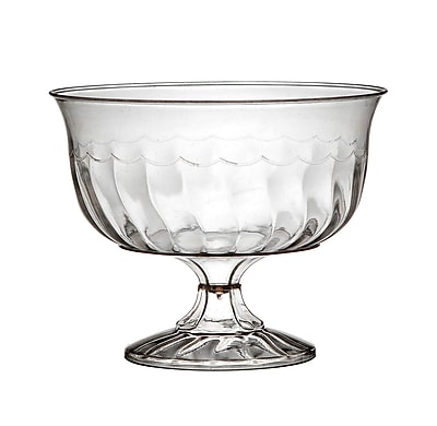 Fineline Settings Flairware 2088 Dessert Cup, Clear