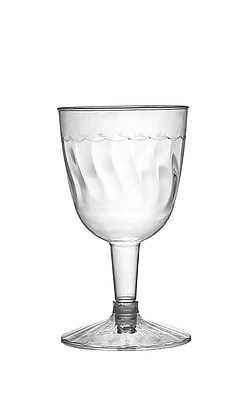 Fineline Settings Flairware 2206 Wine Goblet, Clear