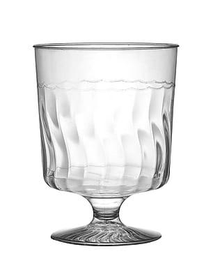 Fineline Settings Flairware 2208 Wine Glass, Clear