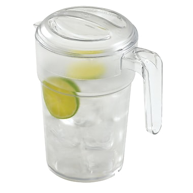 Cambro PC34CW Camwear Pitcher - 34 oz Capacity with Lid