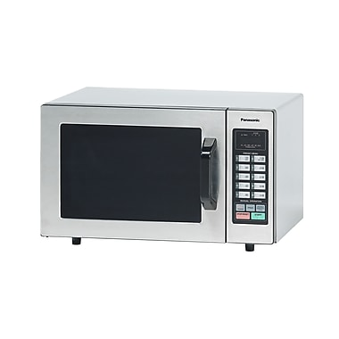 Panasonic NE-1054 1000 Watt Commercial Microwave Oven with Programmable Controls - 120V