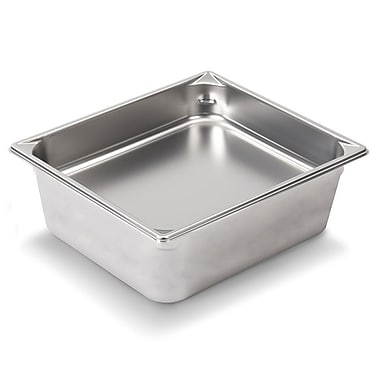 Vollrath 30262, 6'' Deep Super Pan V™ Stainless steel Half-Size Steam Table Pan