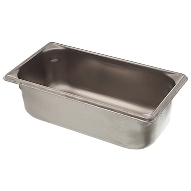 Vollrath 30342, 4'' Deep Super Pan V™ Stainless steel Third-Size Steam Table Pan