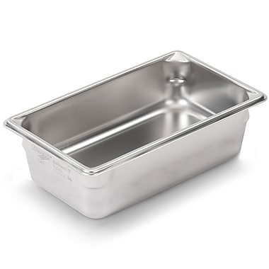Vollrath 30442, 4'' Deep Super Pan V™ Stainless steel Fourth-Size Steam Table Pan