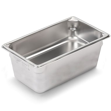 Vollrath 30442, 6'' Deep Super Pan V™ Stainless steel Fourth-Size Steam Table Pan