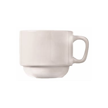 World Tableware – Tasses empilables Porcelana 840-116-101, Maui, 7 oz, 36/CS
