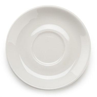 World – Vaissellerie soucoupe Porcelana 840-215-005 5,5 po, 36/boîte