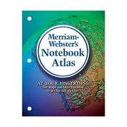 MERRIAM WEBSTER® Notebook Atlas