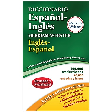 Merriam Webster Espanol-Ingles Dictionary (MW-8217)