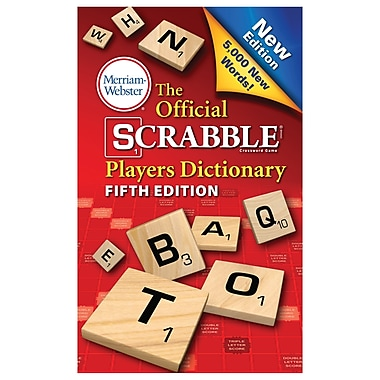 Merriam Webster Official Scrabble Player Dictionary (MW-8224)