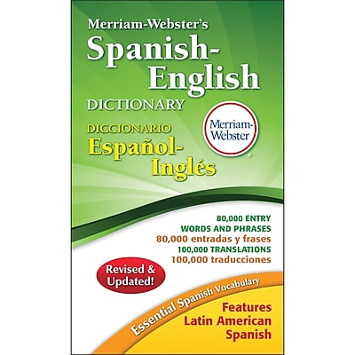 MERRIAM WEBSTER® Spanish-English Dictionary