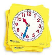 Learning Resources® Pupil Clock Dials, 10/Set