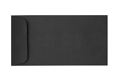 LUX, 6 x 11 1/2 Open End Envelopes, Midnight Black