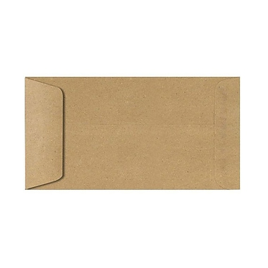 LUX 6 x 11 1/2 Open End Envelopes 500/box, Grocery Bag (61112-GB-500)