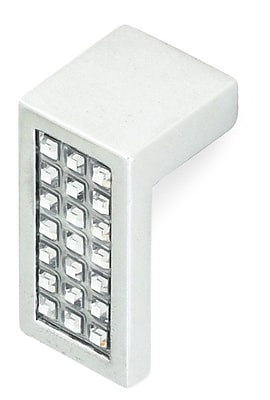 Siro Designs Belvedere Finger Pull; Bright Chrome