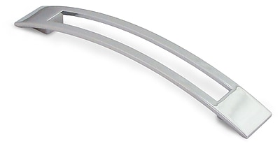 Siro Designs Biscayne 6 3/10'' Center Arch Pull; Bright Chrome