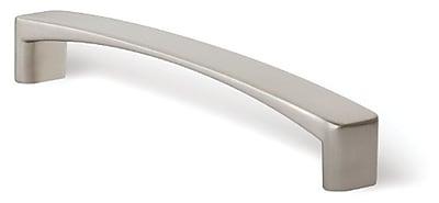 Siro Designs Italian Line 5'' Center Arch Pull; Bright Chrome