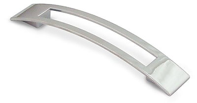Siro Designs Biscayne 5'' Center Arch Pull; Bright Chrome