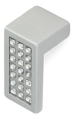 Siro Designs Belvedere Finger Pull; Matte Aluminum