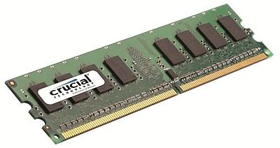 Crucial 2GB (1 x 2GB) DDR2 (240-Pin SDRAM) DDR2 800 (PC2 6400) Universal Desktop Memory