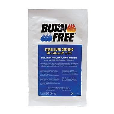 Burn Free – Pansements, 8 x 8 po