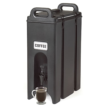 Cambro 500LCD-110, 5 gal Beverage Carrier - Camtainer, Black