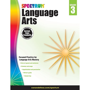 Spectrum Language Arts (Grade 3)