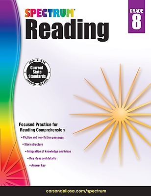 Spectrum Reading Workbook (Grade 8)